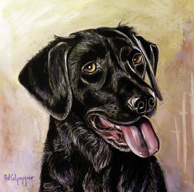 Black Labrador  Original by Cat Culpepper