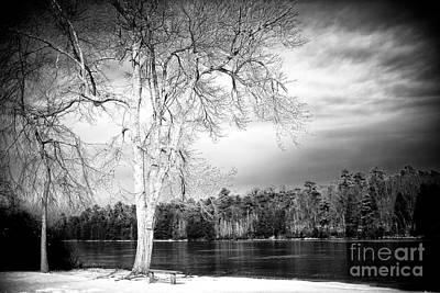 Photograph - Black Lake At Batso Village by John Rizzuto