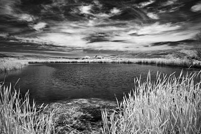 Horizontal Photograph - Black Lake On The Edge by Jon Glaser
