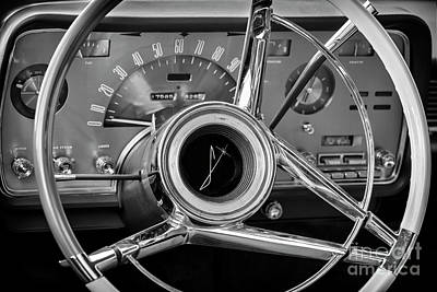 Photograph - Black Lincoln Dash by Dennis Hedberg