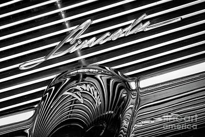 Photograph - Black Lincoln Grill by Dennis Hedberg