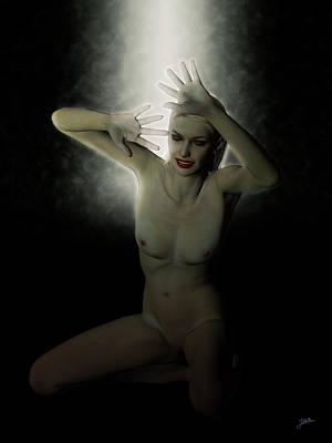 Digital Art - Black Magic Woman by Joaquin Abella Ojeda