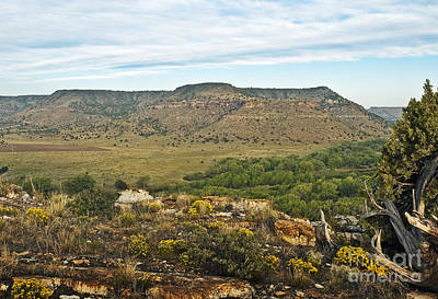 Photograph - Black Mesa View by Fred Lassmann
