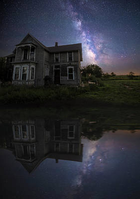 Photograph - Black Mirror by Aaron J Groen