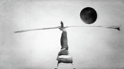 Photograph - Black Moon by Siegfried Ferlin