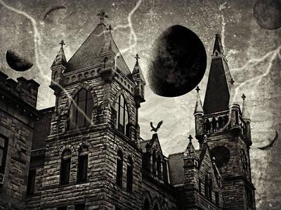 Photograph - Black Moons Rising by Brenda Conrad