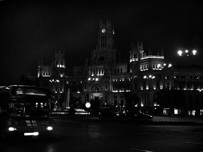 Black Night In Madrid Art Print by Connie Handscomb