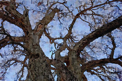 Painting - Black Oaks by Mark Greenberg