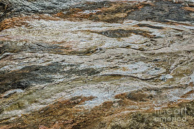 Photograph - Black Obsidian Sand And Other Textures by Sue Smith
