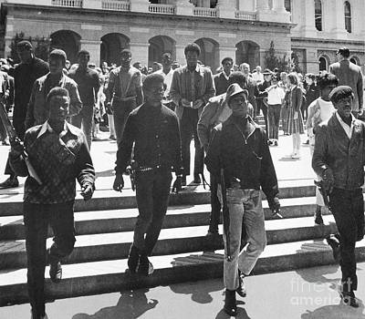 Photograph - Black Panthers, 1967 by Granger