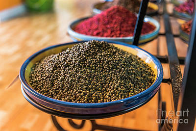 Photograph - Black Pepper In Spice Shop by Compuinfoto