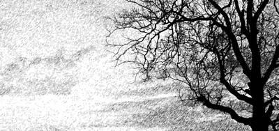 Black Rain Art Print by Ed Smith