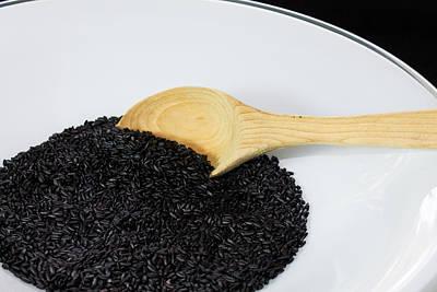 Photograph - Black Rice by Michael Tesar