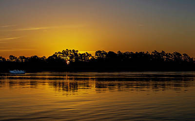 Photograph - Black River Sunrise by Kevin Senter