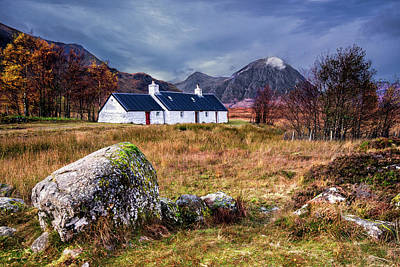 Photograph - Black Rock Cottage by John Frid
