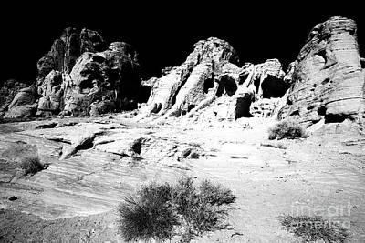 Photograph - Black Rock Eyes by John Rizzuto