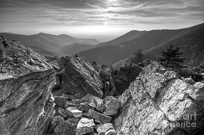 Shenandoah National Park Photograph - Black Rock Mountain Shenandoah National Park by Dustin K Ryan