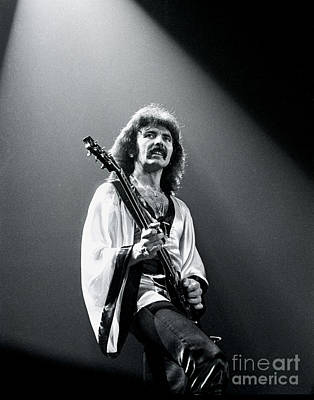 Photograph - Black Sabbath 1978 Tony Iommi by Chris Walter