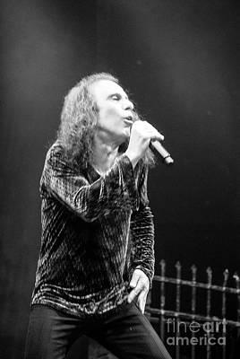 Photograph - Black Sabbath, Ronnie Jamies Dio by Jenny Potter