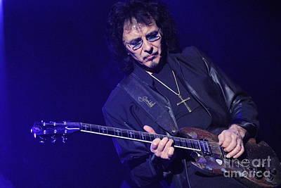 Photograph - Black Sabbath - Tony Iommi by Jenny Potter