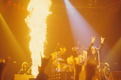 Photograph - Black Sabbath With Dio by Rich Fuscia