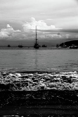 Photograph - Black Sails by D Justin Johns