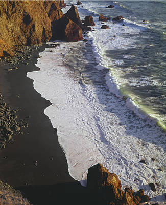 Photograph - 2a6x63-a6-black Sand Beach  by Ed  Cooper Photography