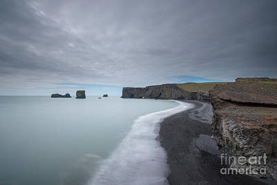 Target Threshold Nature Royalty Free Images - Black Sand Beach Royalty-Free Image by Michael Ver Sprill