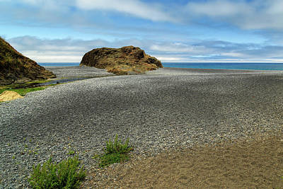 Photograph - Black Sand Beach On The Lost Coast by James Eddy