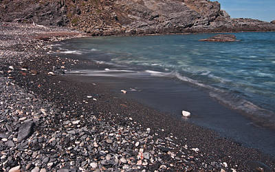 Photograph - Black Sand Beach by Pedro Cardona