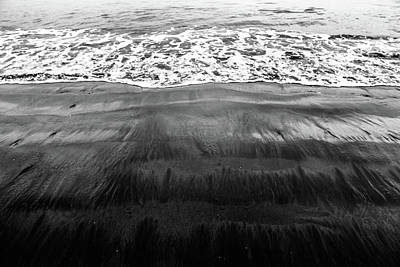 Photograph - Black Sands  by D Justin Johns