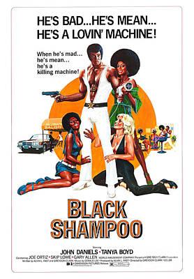 Painting - Black Shampoo Movie Poster by R Muirhead Art