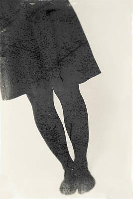 Photograph - Black Skirt #5406 by Andrey Godyaykin