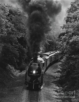 Photograph - Black Smoke Rising by Art Cole