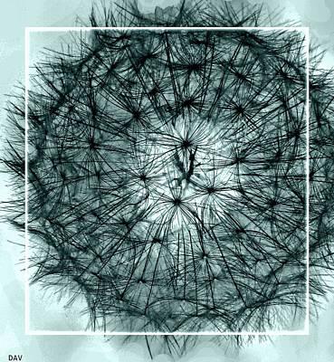 Black Sphere Print by Debra     Vatalaro