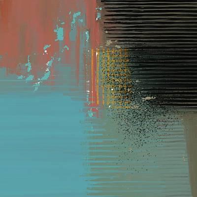 Digital Art - Black Splash by Eduardo Tavares