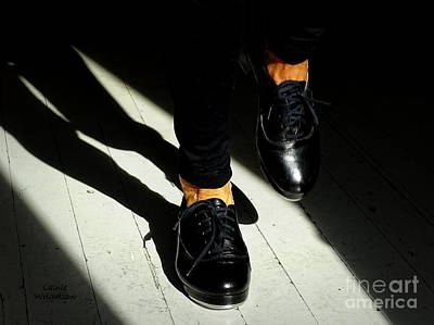 Photograph - Black Tap Shoes by Lainie Wrightson
