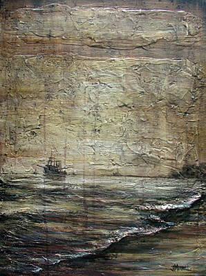 Black Tide Art Print by Judy Merrell