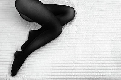 Photograph - Black Tights #6301 by Andrey Godyaykin