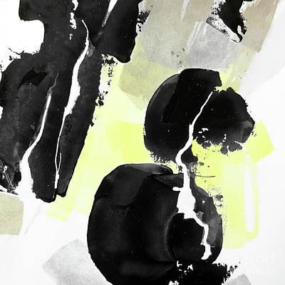 Wall Art - Painting - Black Tints 3 by Chris Paschke