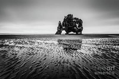 Photograph - Black Troll by Pawel Klarecki