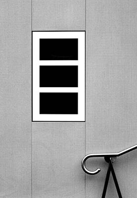 Photograph - Black Tryptic by Stuart Allen