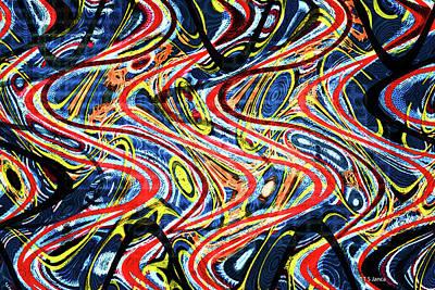 Digital Art - Black Walnut Abstract #2 by Tom Janca