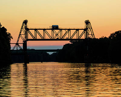 Train Photography - Black Warrior River Bridge by Mitford Fontaine