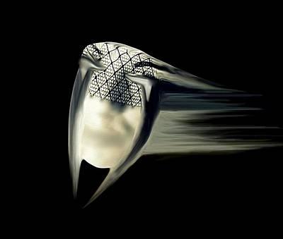 Black Widow Print by Frances Lewis