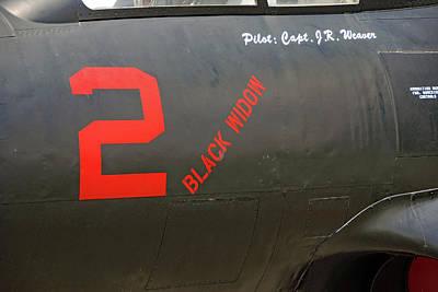 Photograph - 'black Widow' by John Schneider