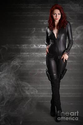 Comic. Marvel Photograph - Black Widow by Jt PhotoDesign