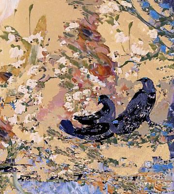 Digital Art - Black Wings by Nancy Kane Chapman