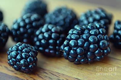 Photograph - Blackberries by Olga Hamilton
