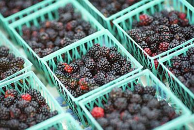 Photograph - Blackberry Baskets by Todd Klassy